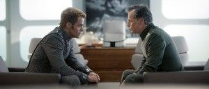 Chris Pine y Bruce Greenwood