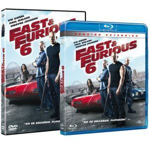 Pack Combo DVD y Blu Ray Fast & Furious 6