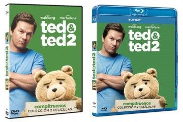 Pack Ted & Ted 2 Dvd Y BR